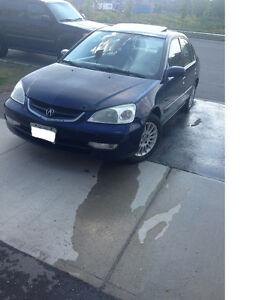 2003 Acura EL FULLY LOADED, NEED GONE ASAP!