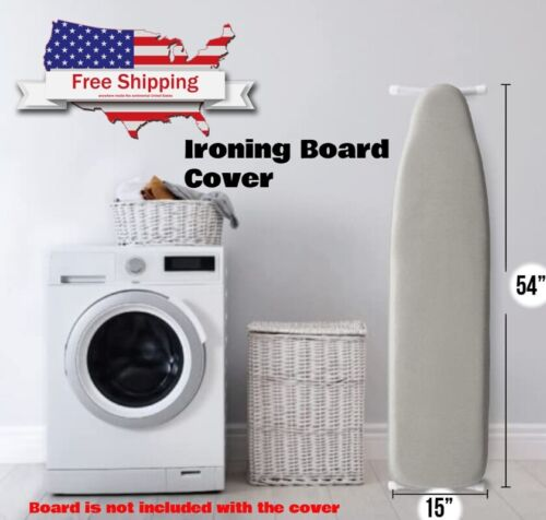 Reflective Silicone Ironing Board Cover Thick Padding Elastic Edge Durable Taut