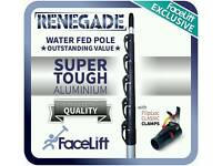 35ft water fed window cleaning pole