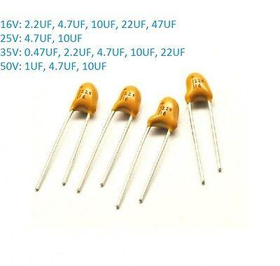 16v 25v 35v 50v Dip Tantalum Capacitor 2.54mm 10 0.4712.24.7102247 Uf