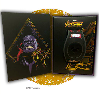 Disney Marvel Avengers Infinity War Magicband Magic Band Thanos LE 3000 SOLD OUT