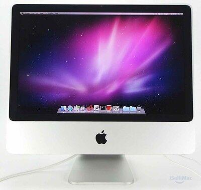 """Apple Aluminum 20"""" IMac 2.66GHz Core 2 Duo 320GB 2GB MB324LL/A B Grade +Warranty"""