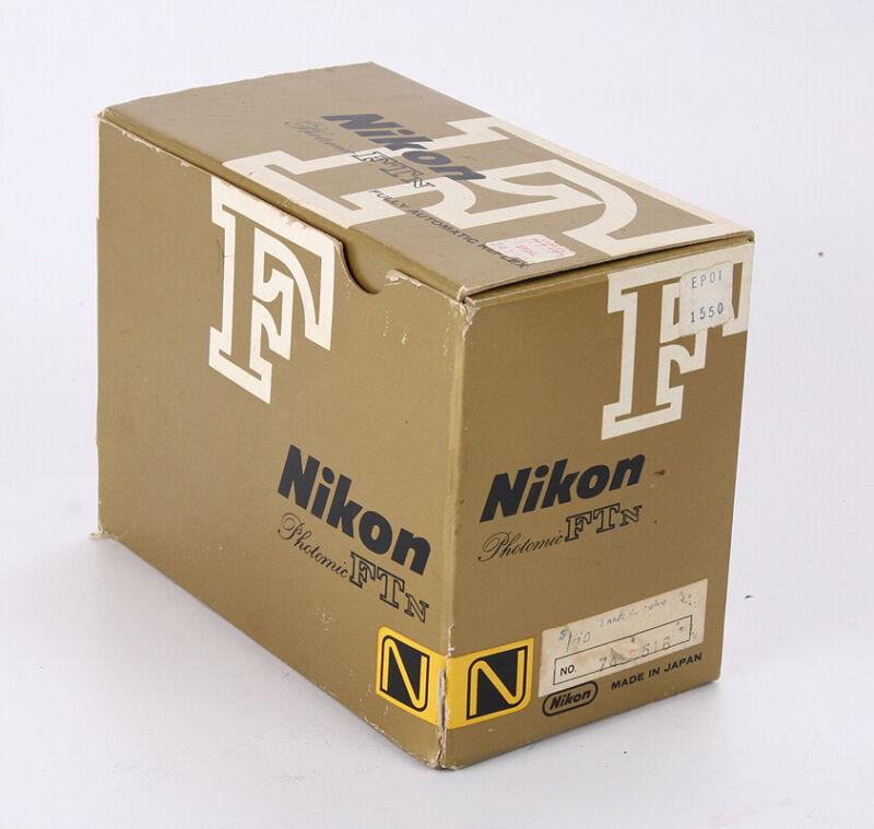 BOX FOR NIKON FTN BODY ONLY APOLLO VERSION, NO INNER FOAM/216411