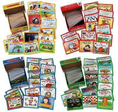 Scholastic LITTLE LEVELED READER 4 Box Set Classroom Collection A-D 300