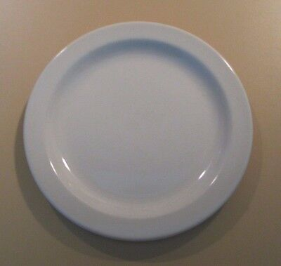 """Midwinter Stonehenge Glossy Smooth White England 7"""" Bread Plates Retired"""