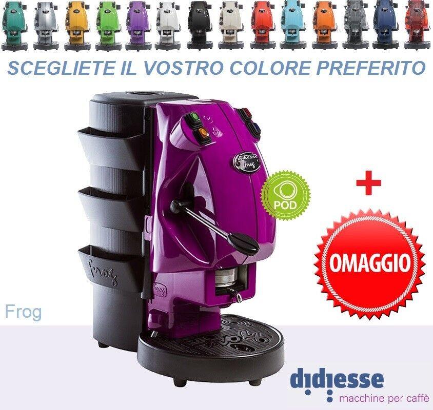 MACCHINA CAFFE DIDIESSE FROG REVOLUTION 2018 CIALDE ESE 44MM + OMAGGIO gratis