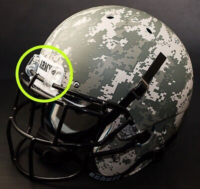Army Black Knights Football Helmet Front Team Nameplate Decal Sticker