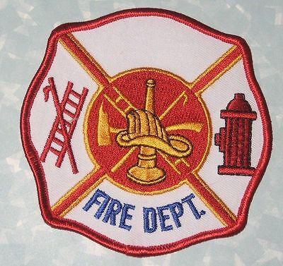 Fire Dept Patch - 4