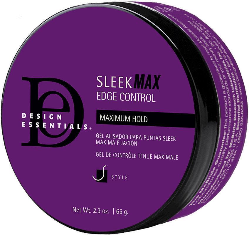 Design Essentials Sleek Max Edge Control Maximum Hold Gel 2.