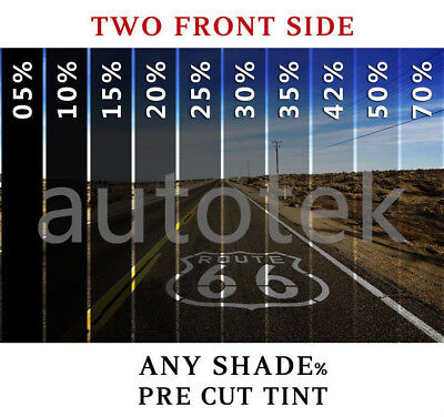PreCut Film Front Two Door Windows COMPUTER CUT Any Tint Shade for ALL SUV 2