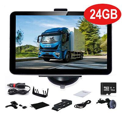 7Zoll LKW Truck Bus GPS Navigationsgerät  Navi Navigation Europa 49 Länder 24GB