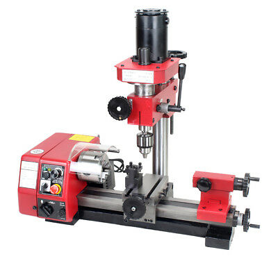 M1 Lathe Machine Multi-function Cutting Drilling Milling Lathe Machine 220v