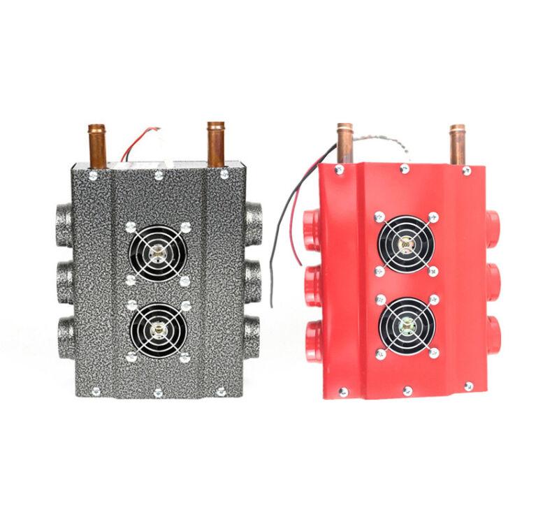 6Ports Heater - Marine, Boat, Cab, Van, Camper - Heat Fan w/ Speed Switch Set