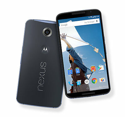 Motorola Nexus 6 XT1103 (Latest Model)- 32GB Midnight Blue (Unlocked) Smartphone