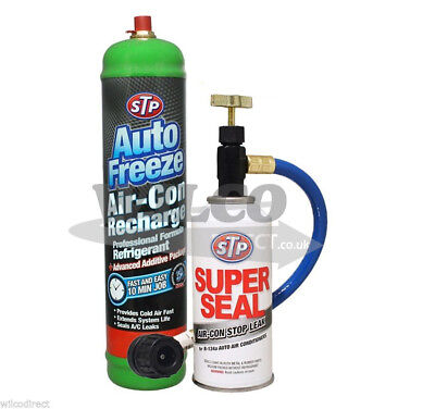 Air Conditioning MRL-3 Super Seal A/C Stop Leak Refill Regas R-134a Gas AIR CON