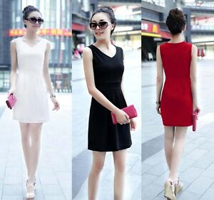 High-Quality-Elegant-Sleeveless-Mini-Dress-XS-L-GF202