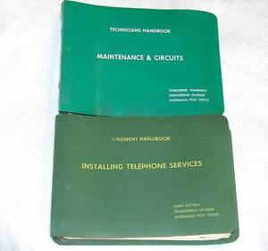 1969 PMG Telephone Instrument & Wiring Manuals (2) JG1 Eastern Creek Blacktown Area Preview