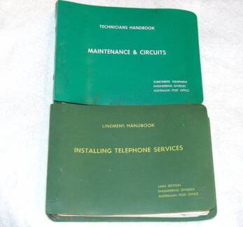 1969 PMG Telephone Instrument & Wiring Manuals (2) JG1