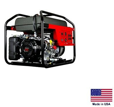Portable Generator Commercial - 120240v - 1 Phase - 12 Hp Honda - 7500 Watt