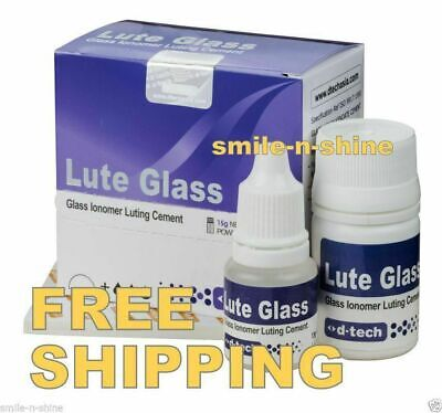 D-tech Restore Lute Glass Ionomer Luting Permanent Cement Dental Filling