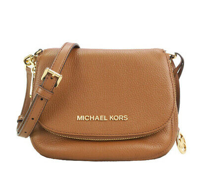 ❤️ Michael Kors Bedford Small Flap Crossbody Bag Handbag Leather