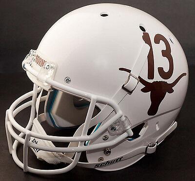 TEXAS LONGHORNS Schutt AiR XP Gameday REPLICA Football Helmet #13