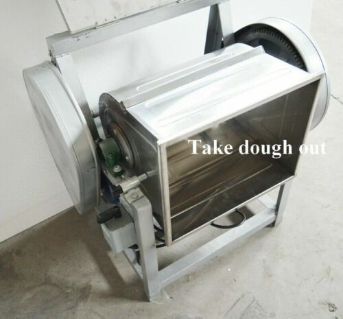 50QT Commercial 110V Electric Dough Mixer Mixing Machine Kitchen Equipment