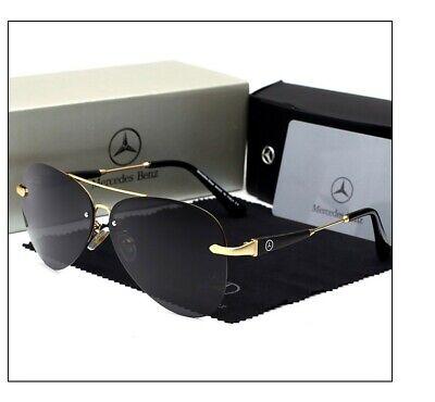 Gafas de sol Mercedes Benz aviador polarizadas