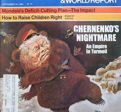 Us News   World Report Magazine September 24 1984