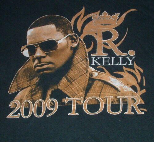 R Kelly Tour T Shirt L 2009