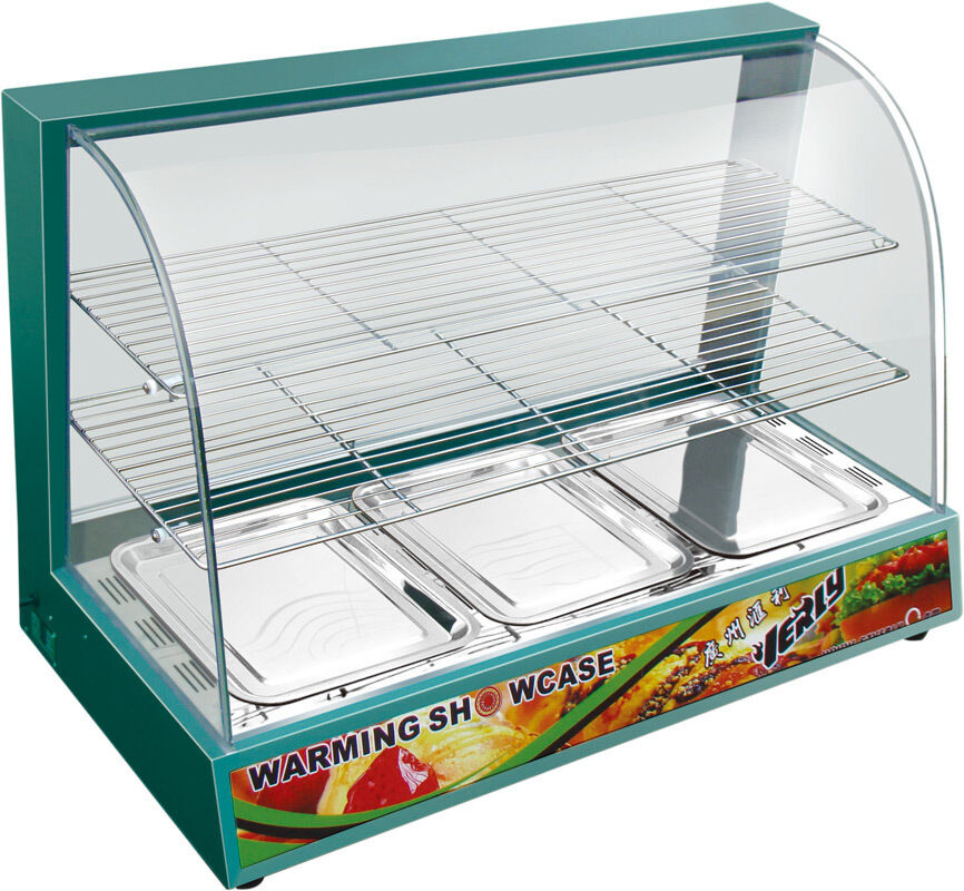 Tansik Hot Food Chicken Warmer Display Cabinet Showcase New | in ...