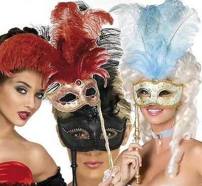 Damen Maskerade Mardi Gras Festival Karneval Kostüm Verkleidung - Damen Maskerade Kostüme