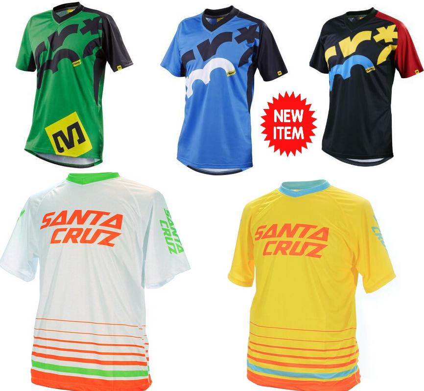 Short Sleeve Downhill Jersey cycling men Mountain Bike T-shirt MTB DH