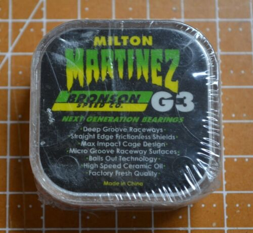 Bronson Speed Co/Milton Martinez G3 Next Generation Skateboard Bearings