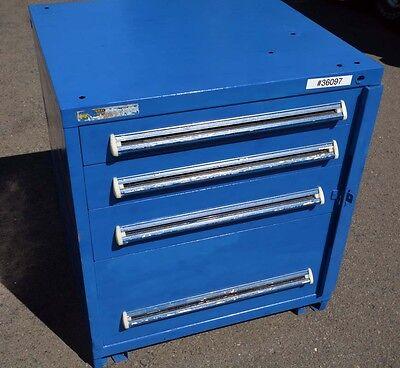 4 Drawer Vidmar Tooling Storage Cabinet Inv.36097
