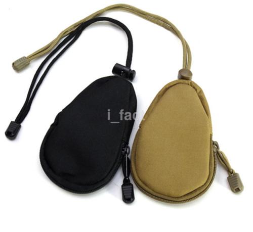 Tactical Outdoor Mini Key Bag Portable Coins Purse Travel Nylon Pouches New US