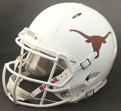 TEXAS LONGHORNS NCAA Riddell SPEED Full Size Authentic Football -