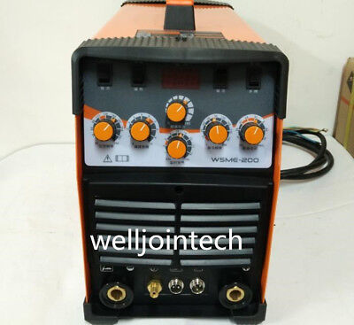 Used, WSME-200 AC DC Pulse TIG Welder Welding Machine Aluminium 220V for sale  Shipping to Canada