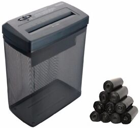 ProAction 5 Sheet 18 Litre Cross Cut Shredder + FREE BLACK BIN BAGS