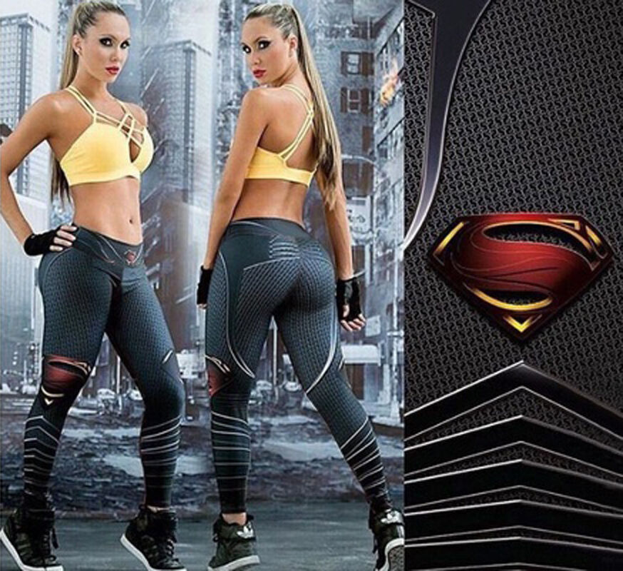 Leggings - Women Yoga Fitness Leggings Running Gym Stretch Sports High Waist Pants Trousers