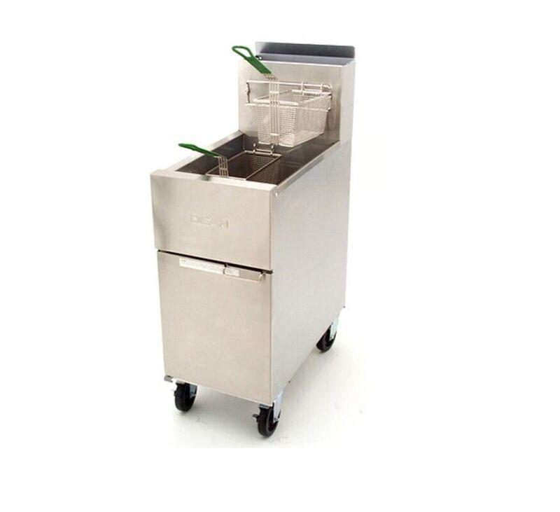 Frymaster Sr142g Dean 43lb Super Runner Gas Deep Fryer 105,000 Btus