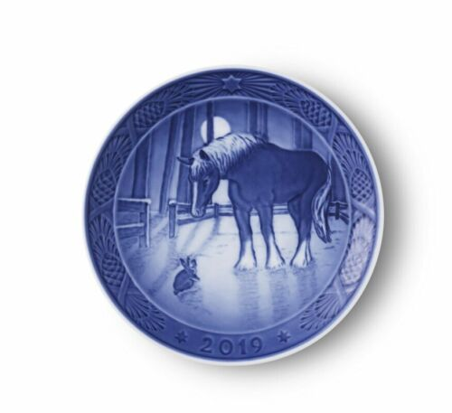 NEW IN BOX! 2019 Royal Copenhagen Christmas Plate Denmark FACTORY FIRST QUALITY!