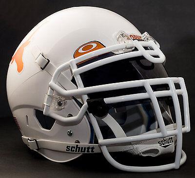 *CUSTOM* TEXAS LONGHORNS NCAA Schutt XP GAMEDAY Replica Football Helmet