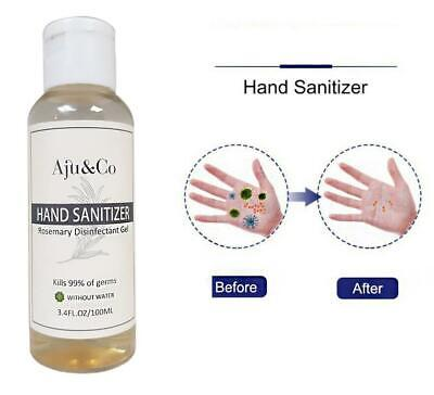 75% Alcohol Antibacterial Hand Sanitizer 99.9% Disinfectant Sanitising Gel 100ml