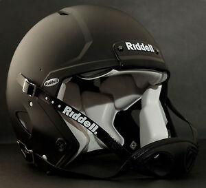 Riddell Revolution SPEED Classic Football Helmet (Color: MATTE BLACK)
