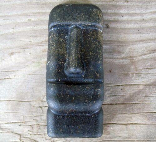 (3) Orgone Moai human head Statue Easter Island Tiki God Spirit Energy Generator