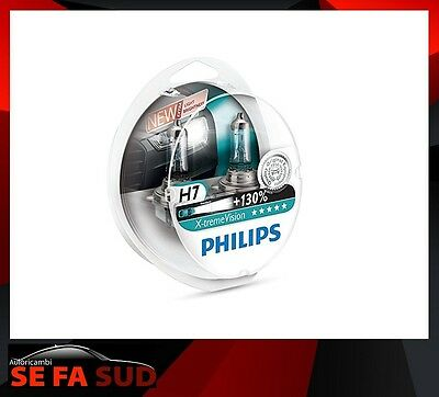 Philips 12972XV+S2 X-treme Vision Lampada alogena H7, 12V 55W, 130% di luce