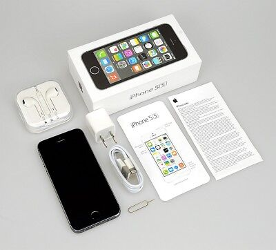 New Sealed Apple iPhone 5s 16GB 32GB 64GB Smartphone Factory Unlocked 4G LTE【US】](iphone 5s 32gb unlocked new)