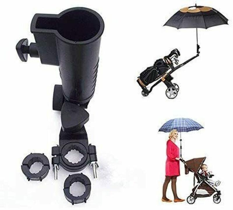 Universal Umbrella Holder For Golf Cart,Bike,Baby Stroller,Fishing Beach Chair
