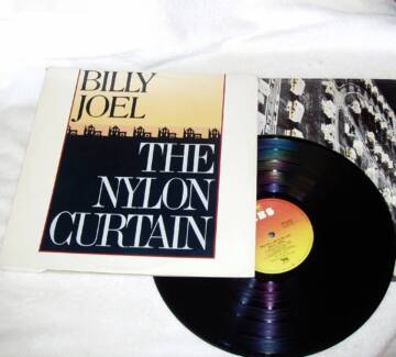 Pop Rock   Billy Joel The Nylon Curtain Vinyl 1982 JG1